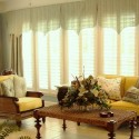 Love the sunroom window treatments , 7 Popular Sunroom Window Treatments In Interior Design Category