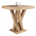 Madero Bar Table Driftwood , 7 Stunning Driftwood Dining Table Base In Furniture Category