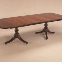 Mahogany Two Pedestal Dining Table , 8 Excellent Maitland Smith Dining Tables In Furniture Category
