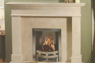 800x800px 7 Perfect Limestone Fireplace Surround Picture in Others