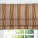 Max Stripe Cordless Roman Shade , 7 Superb Striped Roman Shades In Interior Design Category