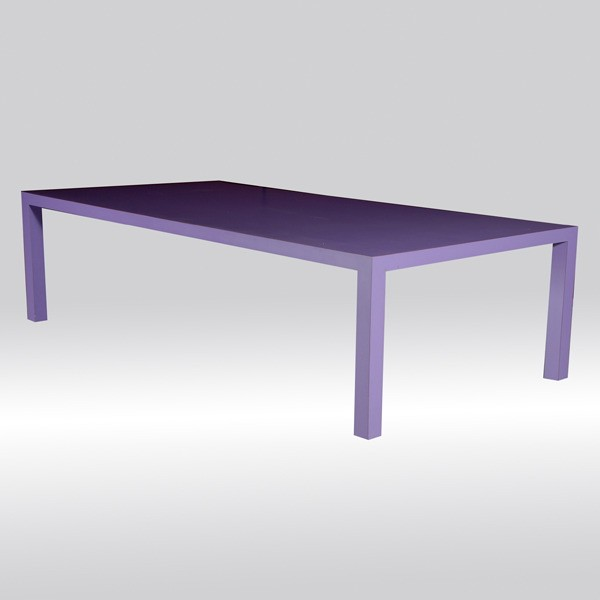 Furniture , 7 Popular Formica Dining Table : Modern Lilac Formica Dining Table