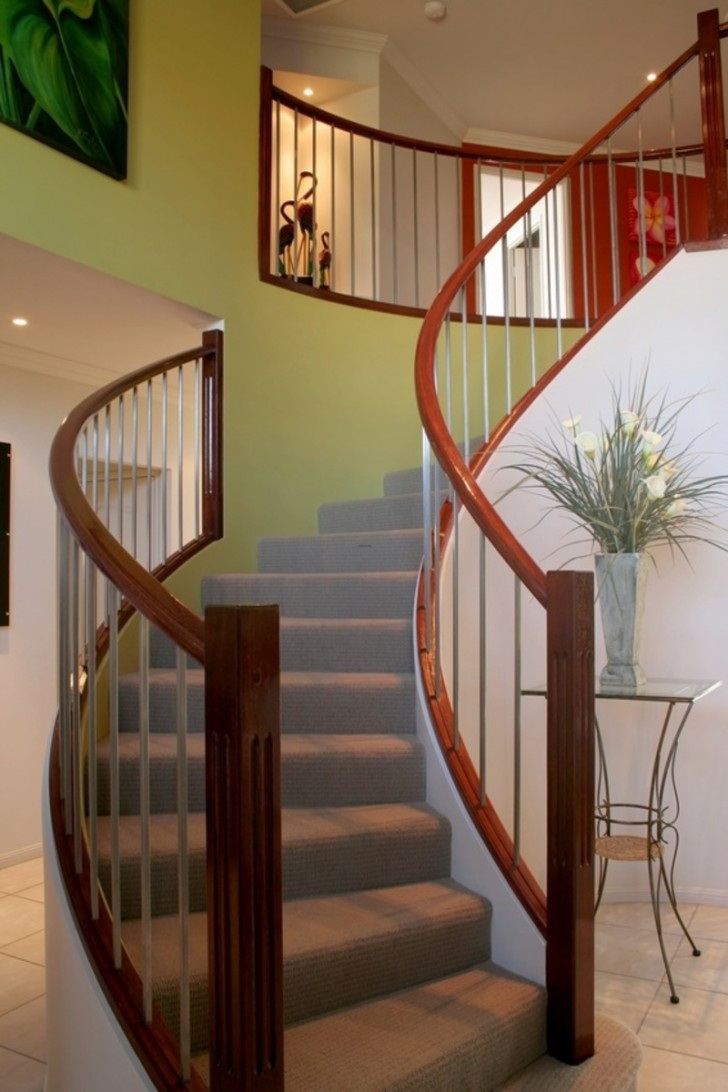 Others , 8 Perfect Stair Railing Designs : Modern Stair Railing Design