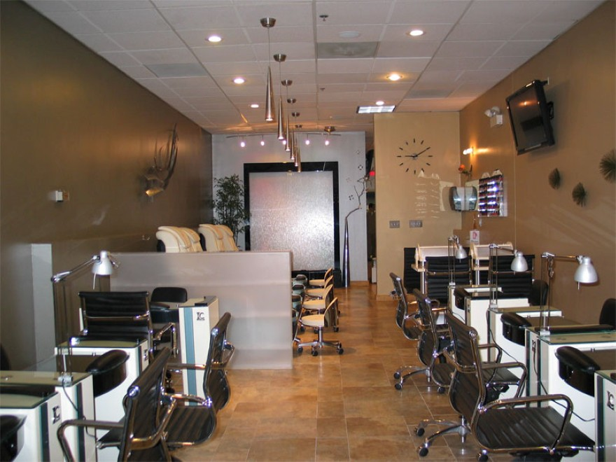 Beautiful Decorating Ideas Nail Salon Interior Design Photos