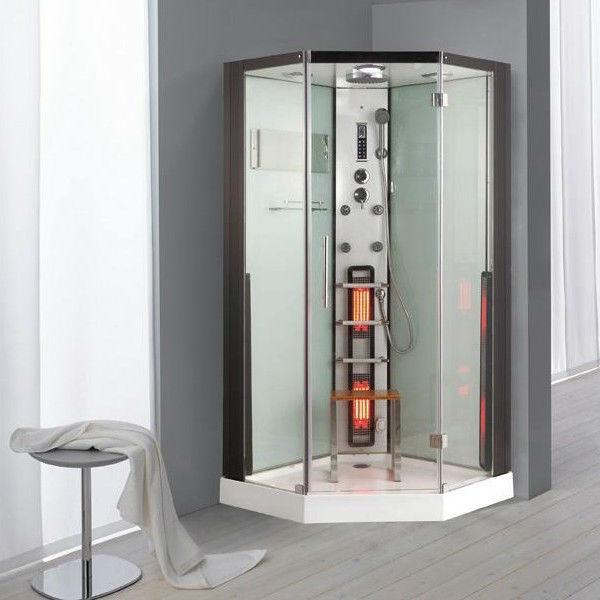 Bathroom 6 Top Sauna Shower Combo New Infrared Steam Room