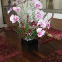 New silk flower arrangement on dining room table , 8 Excellent Silk Flower Arrangements For Dining Room Table In Apartment Category