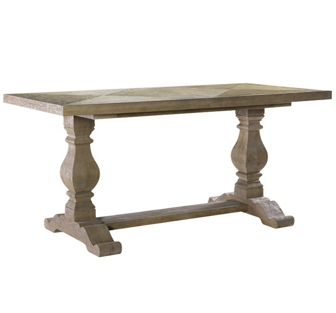 Furniture , 6 Gorgeous Oak Trestle Dining Table : Oak Trestle Dining Table