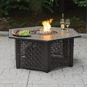 Outdoor Dining Set , 7 Superb Fire Pit Dining Tables In Furniture Category
