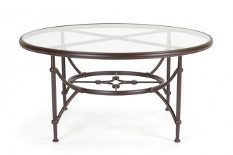 800x800px 7 Popular 60 Inch Round Glass Dining Table Picture in Furniture