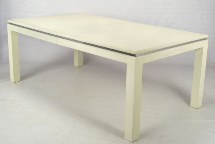 Furniture , 8 Nice White Parsons Dining Table : Parsons Dining Table image