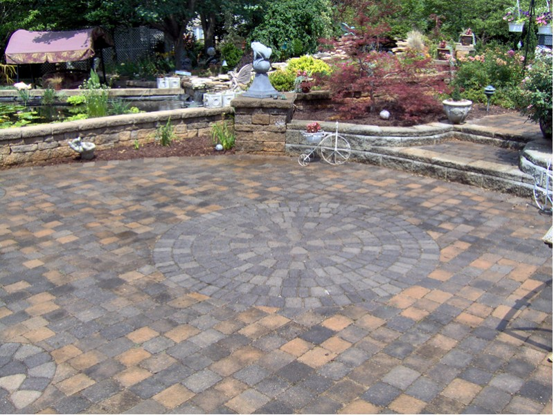 800x600px 7 Fabulous Patio Paver Designs Picture in Others