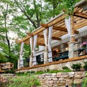 Homes , 8 Top Outdoor curtains for pergola : Pergola with outdoor curtains