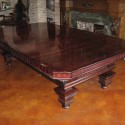 Pool table dining top seats , 8 Fabulous Convertible Dining Room Pool Table In Furniture Category