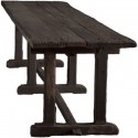 Primitive Long Wood Dining , 7 Charming Primitive Dining Table In Furniture Category