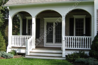 800x600px 7 Unique Front Porch Railings Picture in Homes