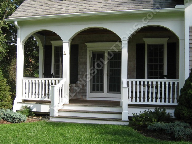 Homes , 7 Unique Front Porch Railings : Railing Solutions