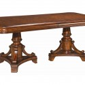 Rectangle Pedestal Dining Table , 8 Awesome Sienna Dining Table In Furniture Category
