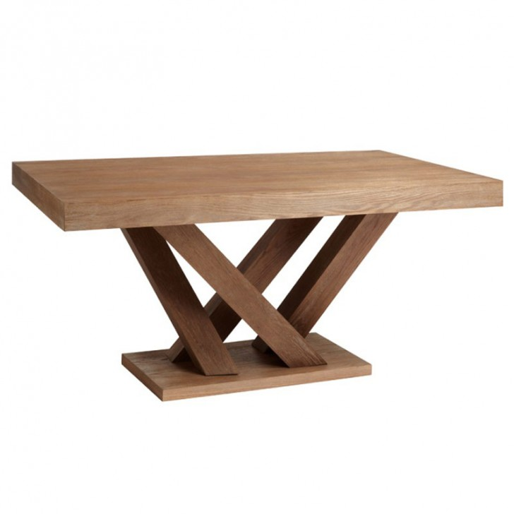 Furniture , 7 Stunning Driftwood Dining Table Base : Rectangular Dining Table