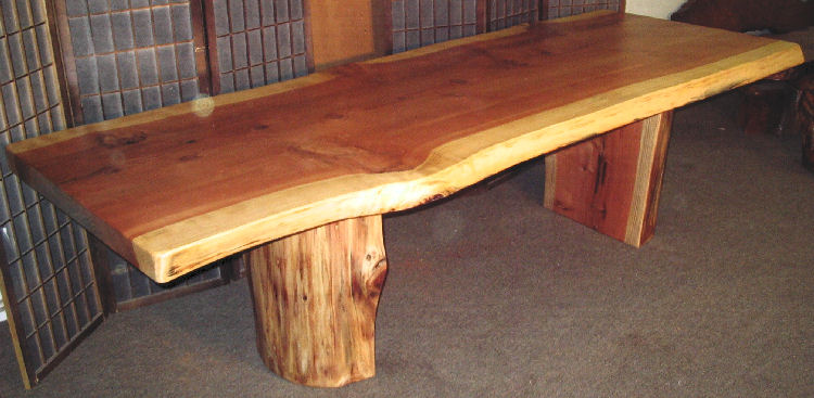 750x367px 7 Awesome Redwood Dining Table Picture in Furniture