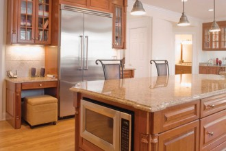 595x400px 7 Awesome Cabinet Refacing Cost Picture in Kitchen