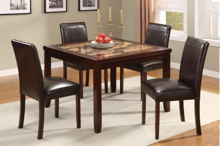 Dining Room , 5 Top Inexpensive Dining Table Sets : Room Sets Wooden Style Table