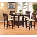 Round Dining Table Set , 7 Unique Counter Height Dining Table With Leaf In Dining Room Category