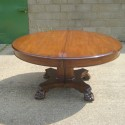 Round Pedestal Dining Table , 5 Stunning Antique Round Pedestal Dining Table In Furniture Category