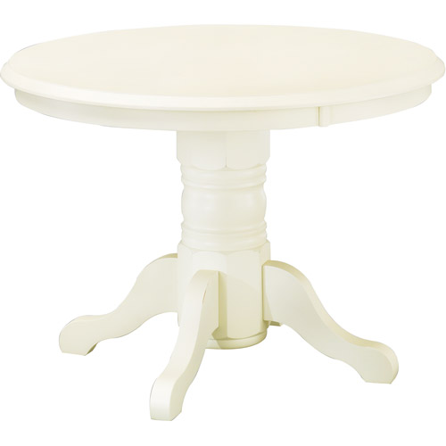 Furniture , 7 Good White Round Pedestal Dining Table : Round Pedestal Dining Table