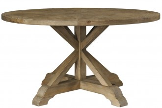 1101x1100px 8 Fabulous  Salvaged Wood Round Dining Table Picture in Furniture