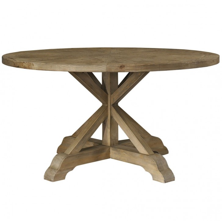 Furniture , 8 Fabulous  Salvaged Wood Round Dining Table : Salvaged Wood Dining Table