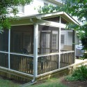 Screen Porch with Brick Foundation and Patio , 7 Top Screened In Porch Designs In Homes Category