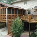 Screened Porch with Custom Railing , 8 Stunning Screened Porch Ideas In Homes Category