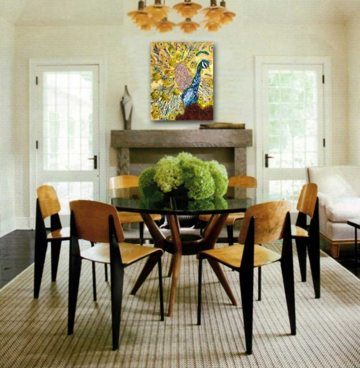 Dining Room , 8 Popular Ideas For Dining Room Table Centerpieces : Simple Home Dining Room Table Ideas