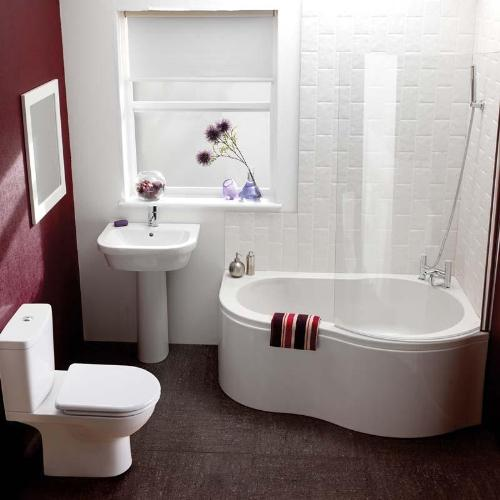 Bathroom , 5 Cool Bathtubs For Small Bathrooms : Small Corner Bath Tub