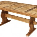 Small Trestle Dining Table , 8 Fabulous Pine Trestle Dining Table In Furniture Category