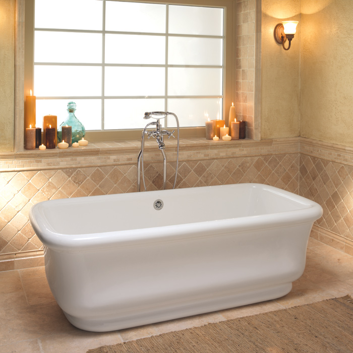 700x700px 7 Unique Soaker Tub Picture in Bathroom