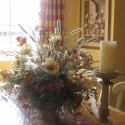Speaking of silk flowers , 6 Beautiful Dining Table Floral Centerpieces In Others Category