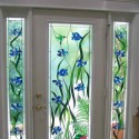 Stained Glass Window Film , 8 Unique Artscape Window Film In Homes Category
