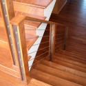 Stainless Steel Cable Rail Stair Railing , 7 Good Cable Stair Railing In Interior Design Category