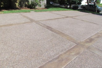 800x600px 7 Awesome Stamped Concrete Driveways Picture in Others