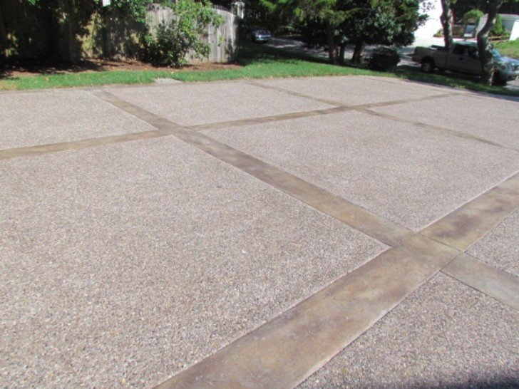 Others , 7 Awesome Stamped Concrete Driveways : Stamped Concrete Aggregate