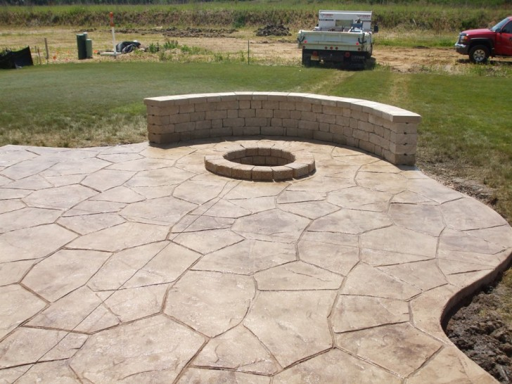 Others , 7 Best Stamped Concrete Patios : Stamped Concrete Patio