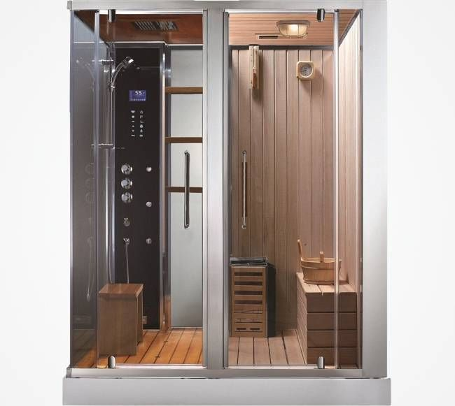 Bathroom , 6 Top Sauna Shower Combo : Steam Shower