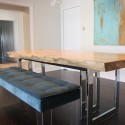 Steel dining table , 7 Best Repurposed Dining Table In Furniture Category