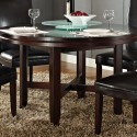 Steve Silver Hartford , 7 Unique 52 Inch Round Dining Table In Dining Room Category