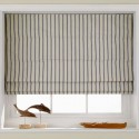 Striped Roman blinds , 7 Superb Striped Roman Shades In Interior Design Category
