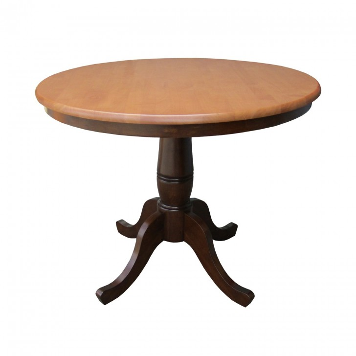 Furniture , 7 Nice 36 Round Pedestal Dining Table : Table Dining Height