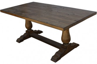 640x414px 7 Charming Custom Reclaimed Wood Dining Table Picture in Furniture