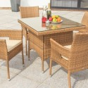 Table with industrial legs , 7 Outstanding Cafe Latte Dining Table In Dining Room Category