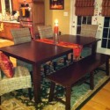 Teak Round Expandable Dining Table , 8 Brilliant Pier One Dining Table And Chairs In Dining Room Category